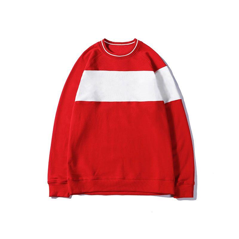 Con capucha Hombres Mujeres bordado Pullover estilista sudaderas con capucha de manga larga casual para hombre Rojo Negro estilista sudaderas con capucha tamaño M-XXL