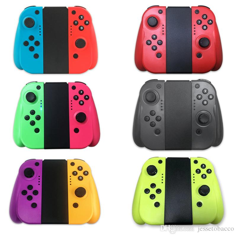 Drahtloser Bluetooth Spiel-Controller für Nintend Schalter links rechts Joy Griff Grip con Game Controller Gamepad für Nintend Schalter