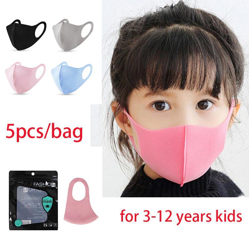 3-12 лет дети черный розовый чехол для лица PM2. 5 рот маски многоразовые моющиеся бытовые защитные маски boom2017 Party Masks