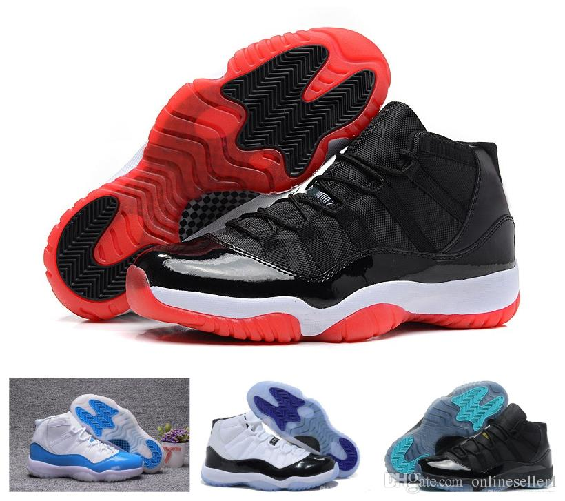 11 tênis de basquete Bred Space Jam Gamma Legend azul Gym Infrared Red Georgetown Grey 72-10 Concord 11s Shoes Sneakers para as Mulheres Homens