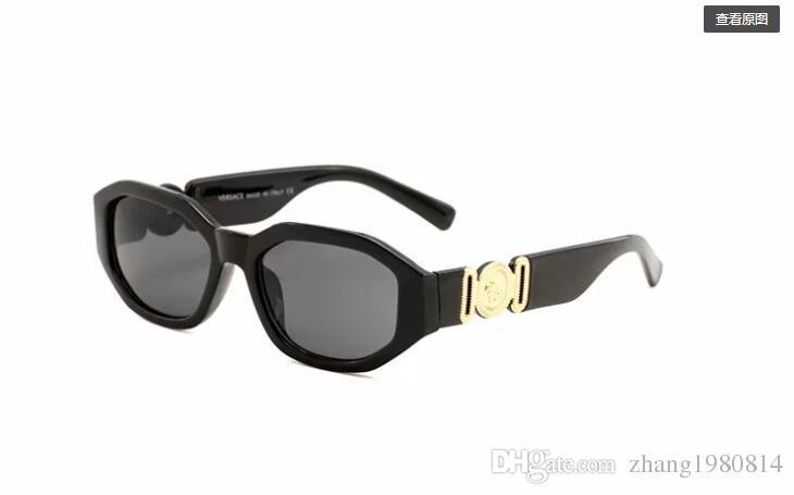 Hochwertige polarisierte linse pilot mode sonnenbrillen für männer und frauen markendesigner vintage sport sonnenbrille mit 4361