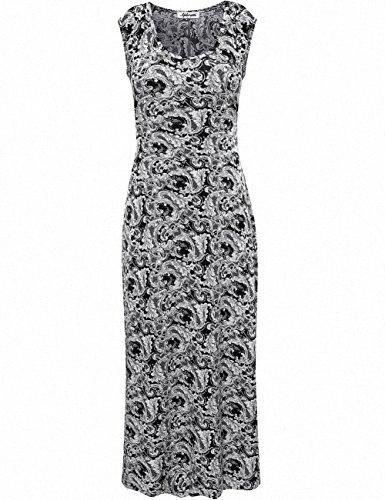 Womens Dress Aphratti Womens Boemia girocollo maniche Spalato maxi estate del vestito Juniors partito Sun Dress R5Em #