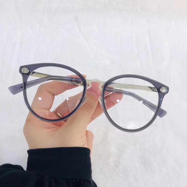 2020 الأحدث GG2267 ريترو خمر جولة نظارات للمرأة 51-17-140 الأزياء اللوح الخشبي + المعدنية لقصر النظر النظارات الشمسية القضية fullset