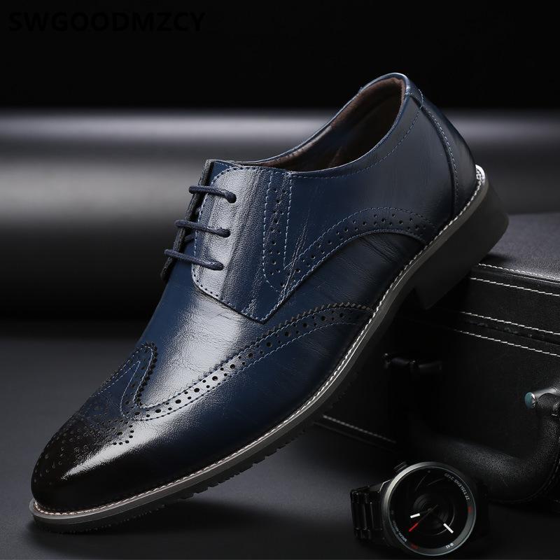 mens sotaque homens sapatos oxford vestir sapatos de couro real dos homens vestido de casamento italiano de 2019 sapatos masculino sociais