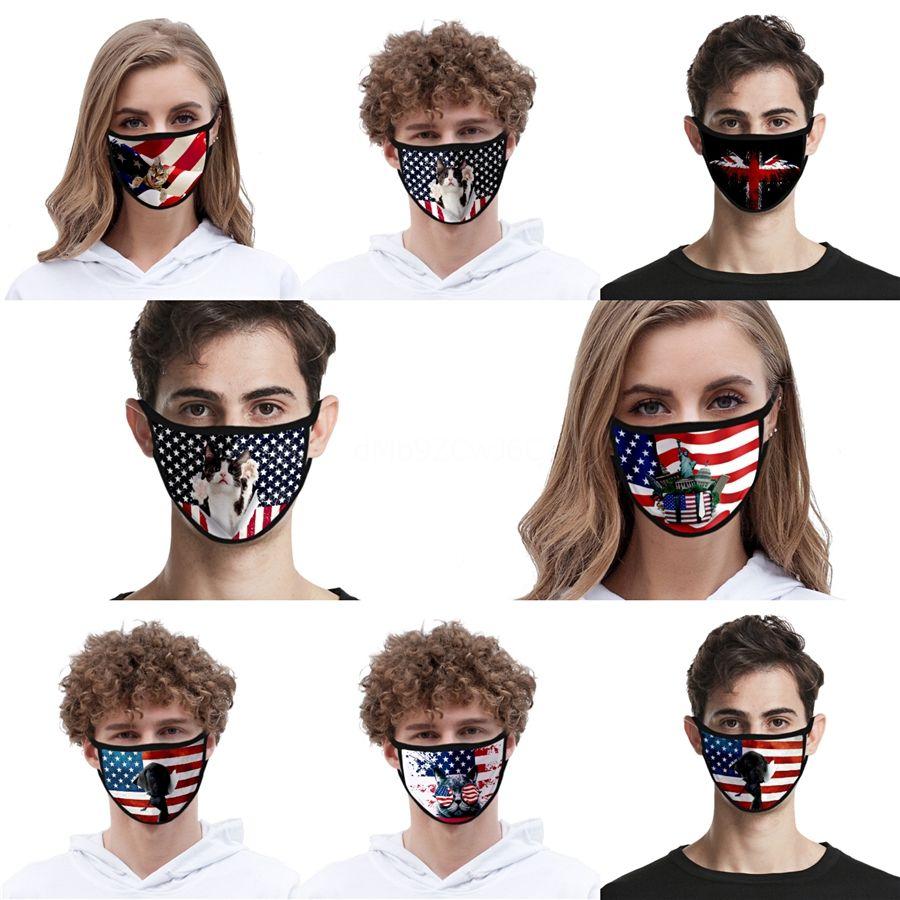 Ncaa Logo Waschbar Einstellbare Wiederverwendbare 2 Carbon Filter Sicherheits Montage Outdoor Sports Staub-Beweis-Breathable Designer Gesichtsmaske # AQ239