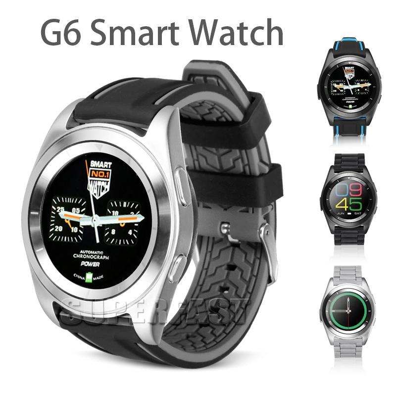 Bluetooth Smart Watch G6 Smart-Armband mit Herzfrequenz Für Android IOS Schlaf-Monitor mit Kleinkasten