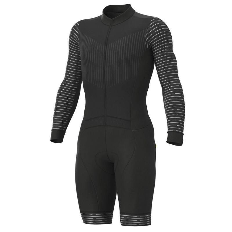 2020 برو فريق الترياتلون بدلة رجالية سوداء طويلة الأكمام الدراجات جيرسي Skinsuit بذلة مايوه ركوب الدراجات ملابس ciclismo