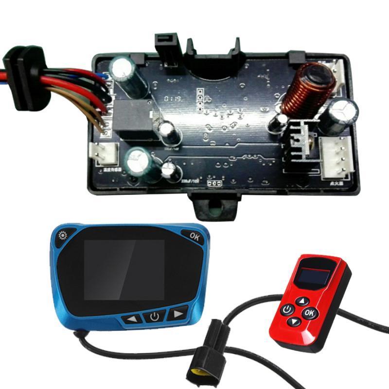 Interruptor universal de 12V / 24V LCD Monitor remoto de la placa de circuito de control Controlador Accesorios para el coche Seguir los Diesel calentador de aire