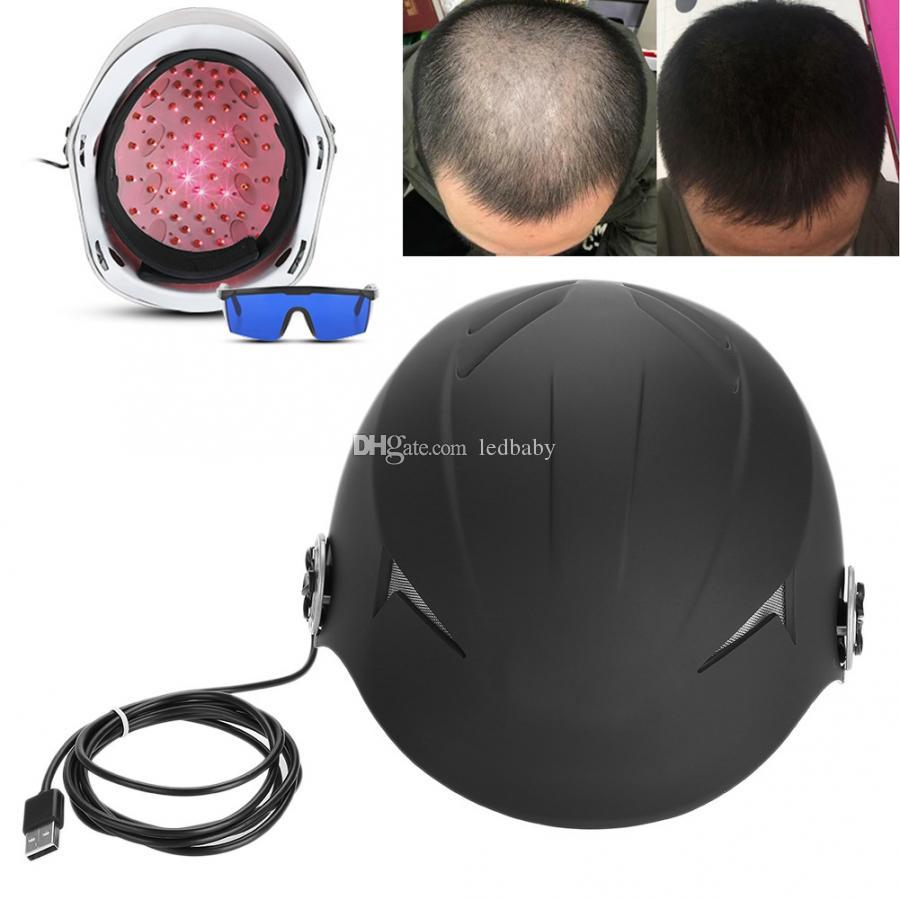 Newest hot sales Portable Hair Loss Products home use laser hair growth cap with 68 diodes for hair regrowth CE free shipping