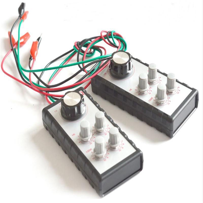 Ferramenta de diagnóstico automóvel Sensor Signal Simulator circuito de manutenção ajustável Signal Resistência Simulator unidade Box
