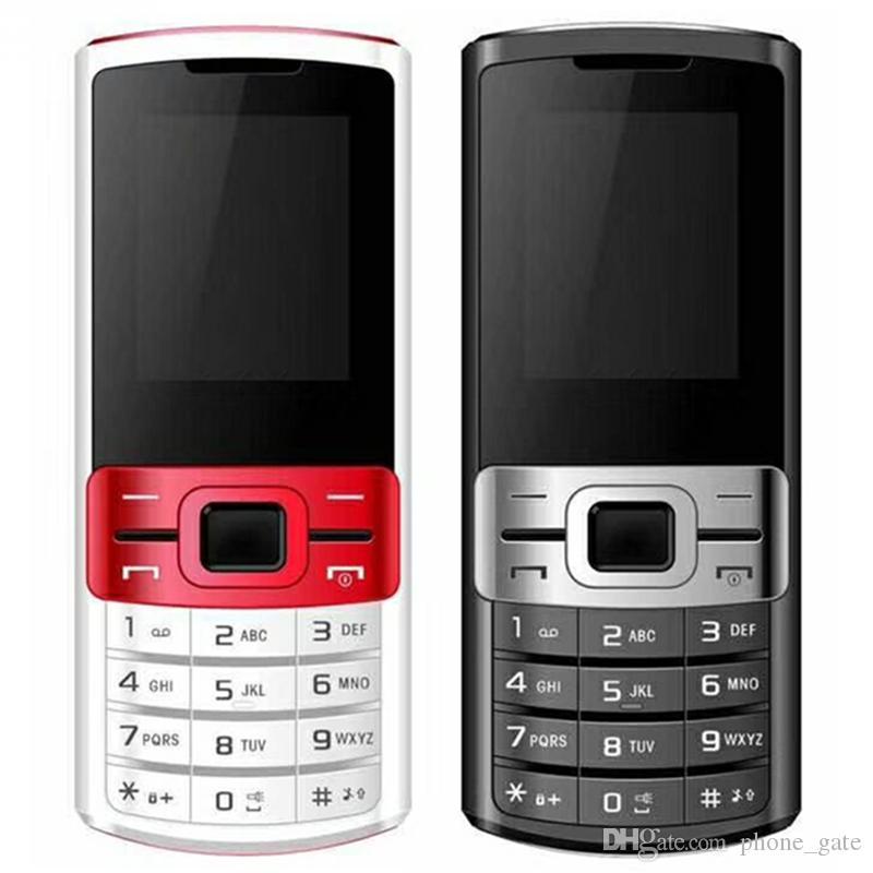 Dual Sim Mobile 1.77inch QCIF écran GPRS Support Wap WhatsApp Recorder fonction Bluetooth MP3 MP4 8W Caméra Mobilephone 3370 DHL