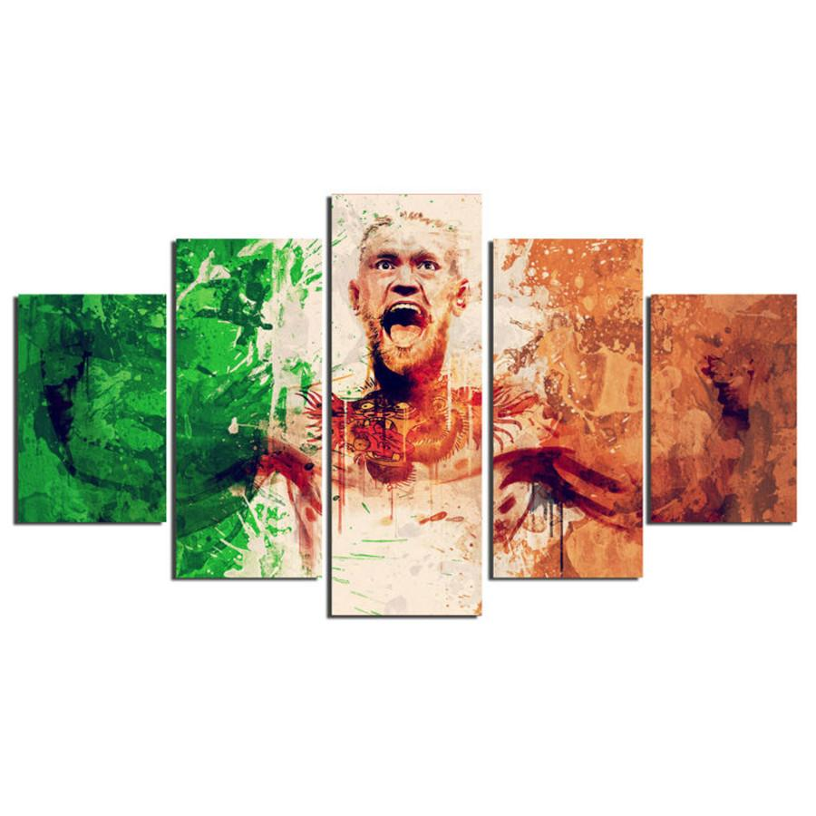 Conor Mcgregor -2,5 Pieces HD Canvas Printing New Home Decoration Art Painting/Unframed/Framed