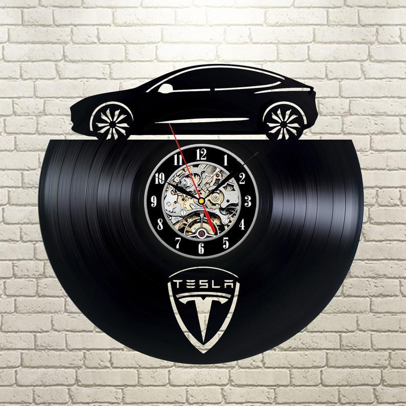 Vinyl Wall Clock, Decor,Art