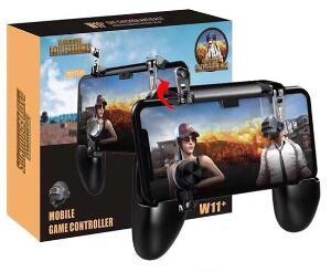 2019 W11 + 모바일 게임 패드 컨트롤러 게임 핸들 휴대 전화 쉘 케이스 gamepad 홀더 조이스틱 화재 트리거를 하나씩 전화로