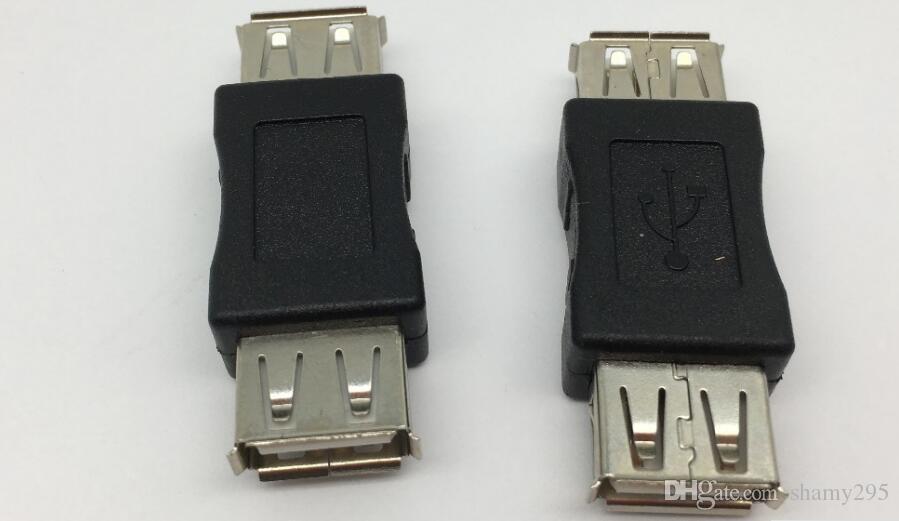 USB 2.0 유형 A 암컷 - 암컷 형 커플러 어댑터 커넥터 F / F 컨버터 추진 USB 연장 잭