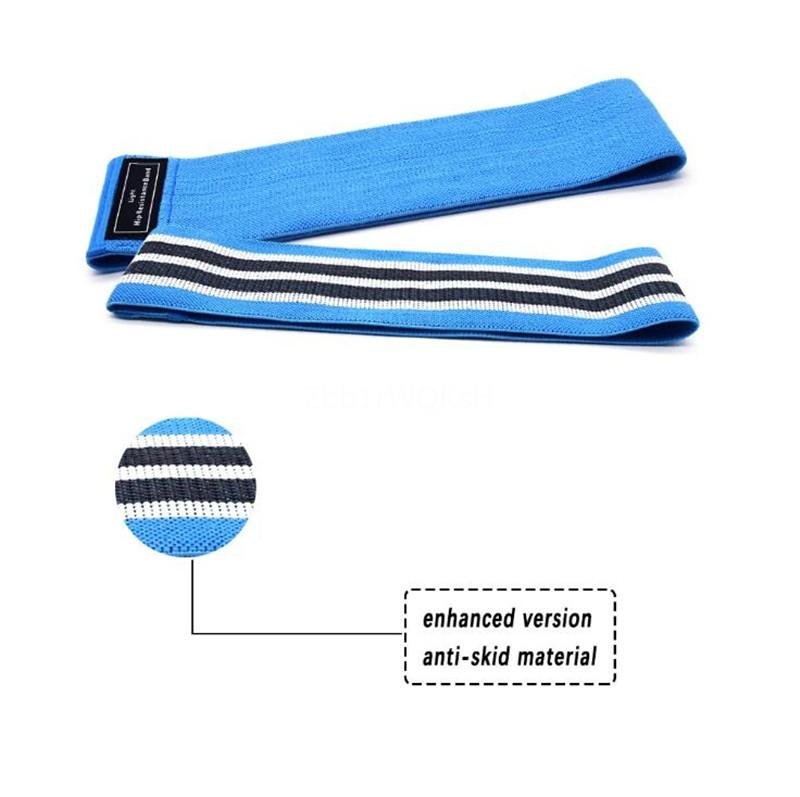 Natural Latex Elastic Resistance Loop Bands Home Yoga Fitness Exercise Bands Stretching Strength Training Physical Therapy Pilates Flexba#570