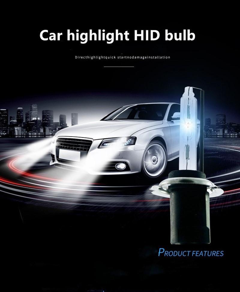 New 12v 55w Xenon Car Headlights H7 H3 H4 H1 H8/h9/h11 H15 D2h 9005 9006 9012 880/881 Hid Xenon Kit Bulbs Lamp Auto Parts Car Accessories