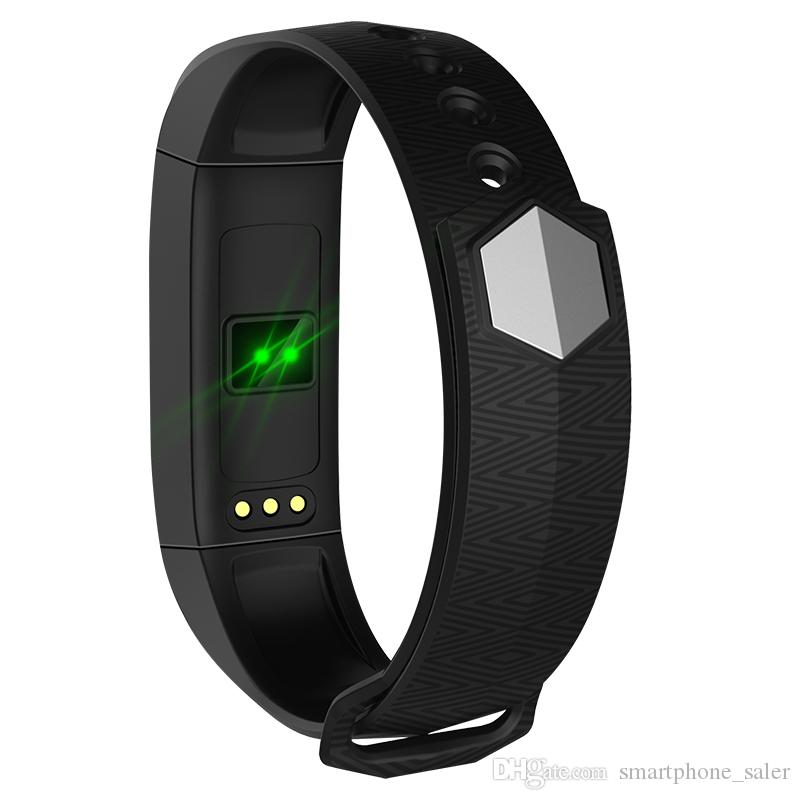 For Original iPhone X 8 8P Samsung Sony Mobile Phone Smart Bracelet Watch CD02 Heart Rate Monitor Fitness Tracker IP67 Waterproof Smart Band