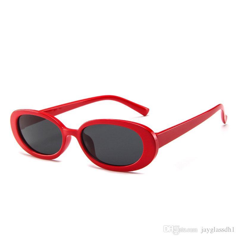 2021 Mode UV400 Sonnenbrille Großhandel Brand Designer Töne für Gläser Zebra Runde Frauen Geschenk Frauen Shades Sun Oval Kleine FLHPM
