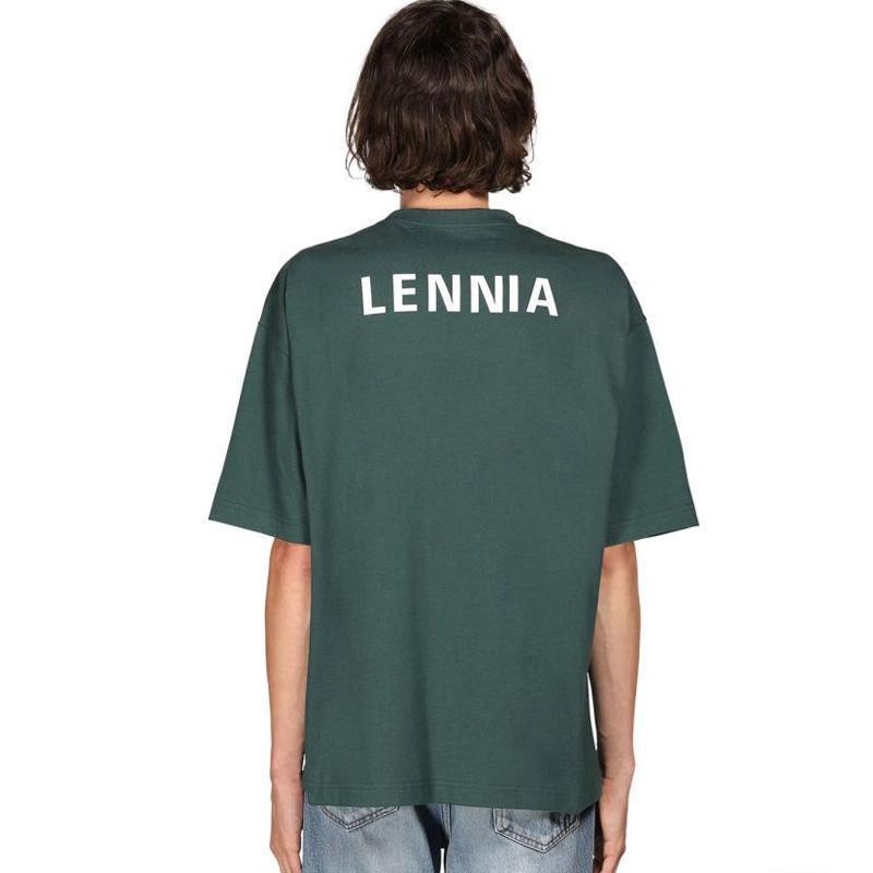 2020 camiseta del color Volver clásica del logotipo impreso letra camiseta de los hombres de las mujeres de verano de manga corta transpirable simple High Street camiseta HFYMTX648
