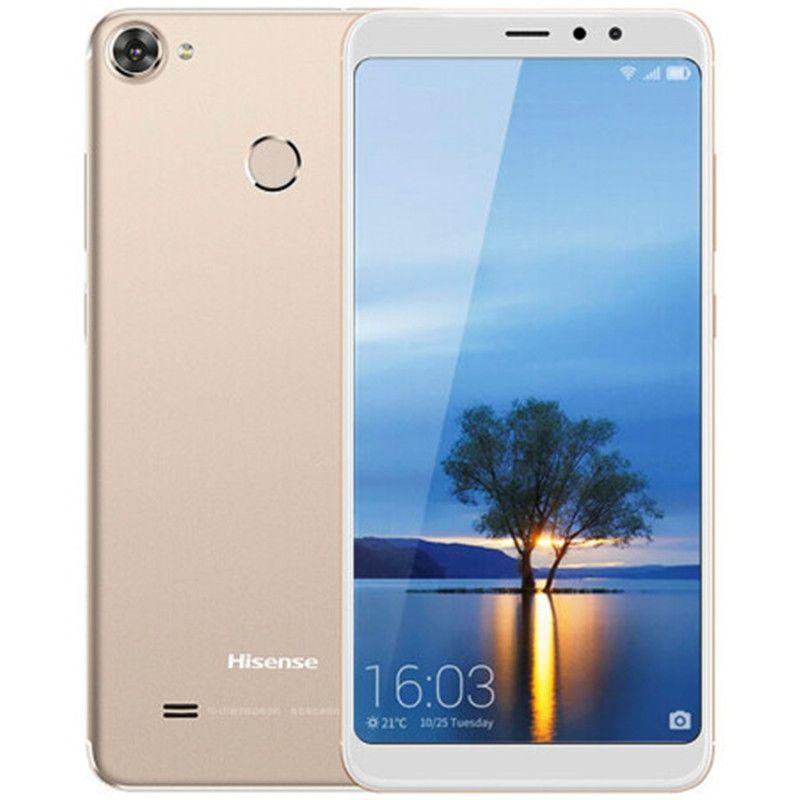 "Cell Phone Original Hisense F26 4G LTE 3GB RAM 32GB ROM Snapdragon 425 Quad Core 5,99"" Full Screen 13MP Fingerprint ID Smart Mobile Telefone"