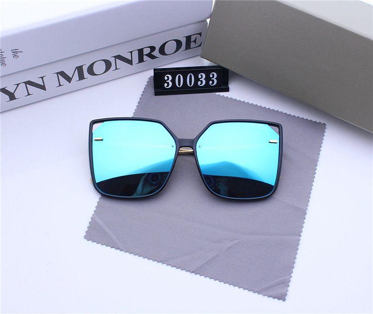 Новый мужчин и женщин поляризованные цвет пленки солнцезащитные Тома солнцезащитные очки тонкая рамка лица очки UV400 линзы дизайнер синий Меркурий серый животное объективы