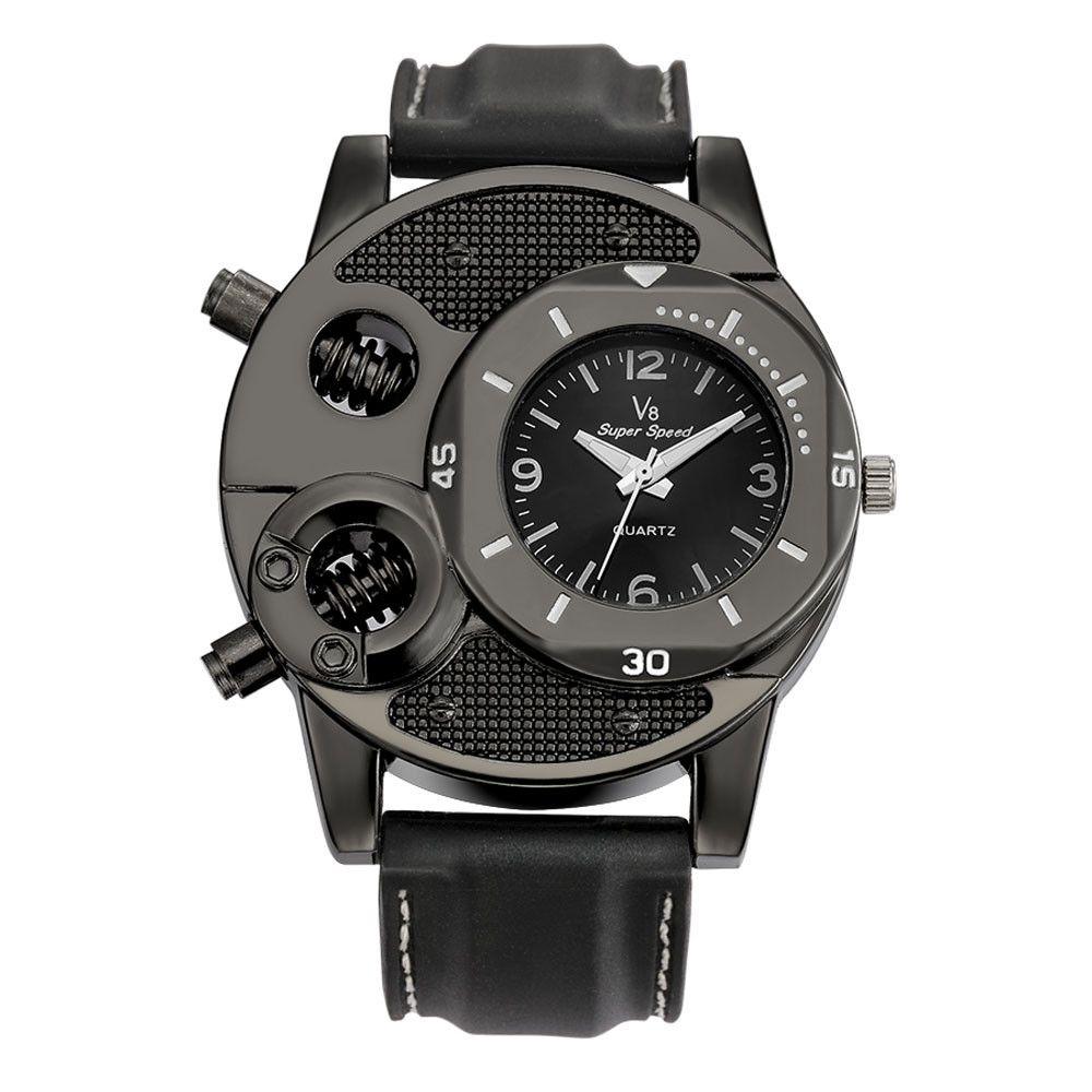 Relojes para hombre Marca de lujo V8 Hombre Reloj de pulsera de moda Regalos de diseñador de moda para hombres Relojes de pulsera de cuarzo deportivo