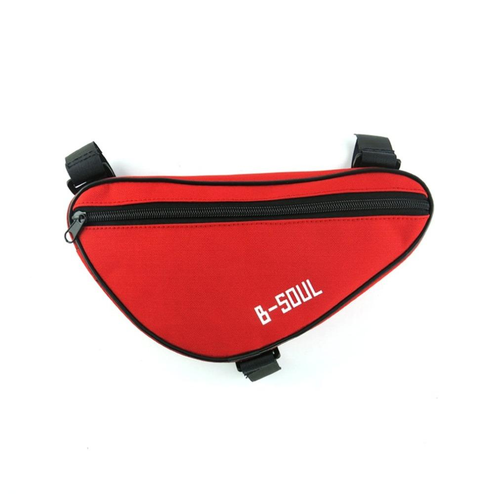 B-SOUL Portable Bike Front Frame Top Tube Front Triangle Saddle Bag Pouch Pannier MTB For Cycling Bike Bag Bicycle Accessories
