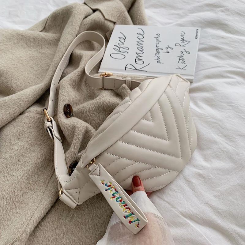 Plaid Taillen-Beutel-Frauen Fanny-Pack Mode Taschen beiläufige Hüfttasche 2020 Neues Thema Gelegenheits Functional Geld Telefon Gürteltasche p5