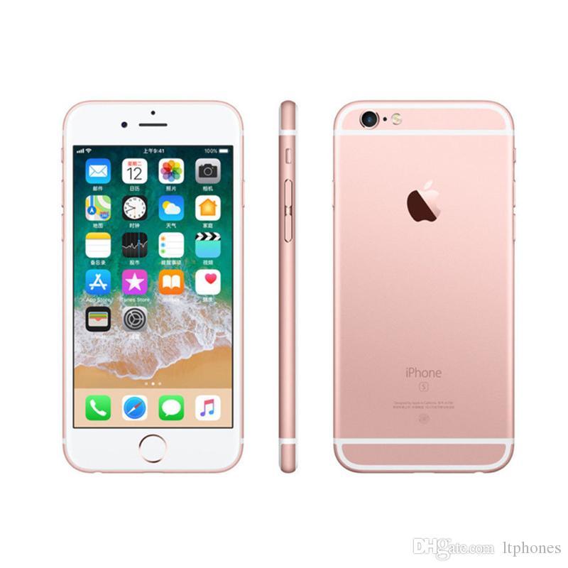 reformado de apple iphone 16gb con 6s touch id de 4 7 pulgadas 2 gb de ram ios abrio el telefono movil smartphone por ltphones 127 21