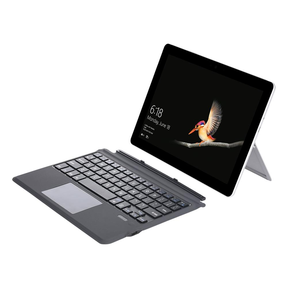Magnetic Absorption Wireless Keyboard with Touchpad for Microsoft/Surface Go GO 2 Tablet Ultra Slim Portable Bluetooth Wireless Keyboard