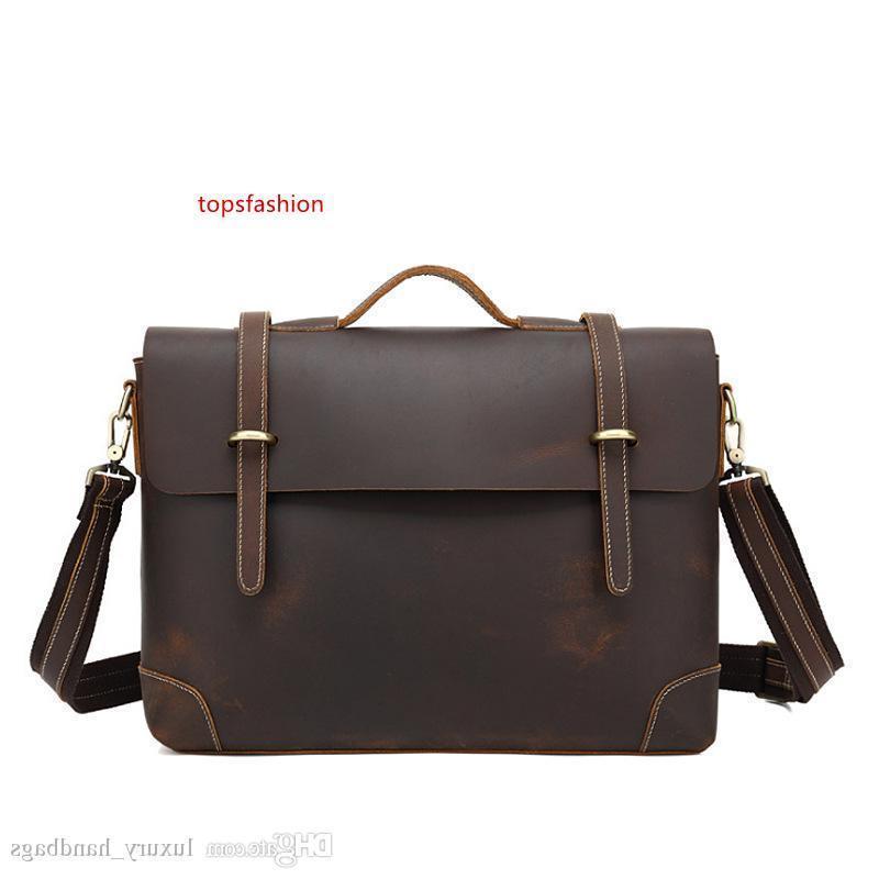 Aktentasche Herren S Tasche Rindsleder Rucksack Mehr Taschen Top-Qualität Handtasche Designer-Handtaschen bewegliche echte Leder Reisetaschen