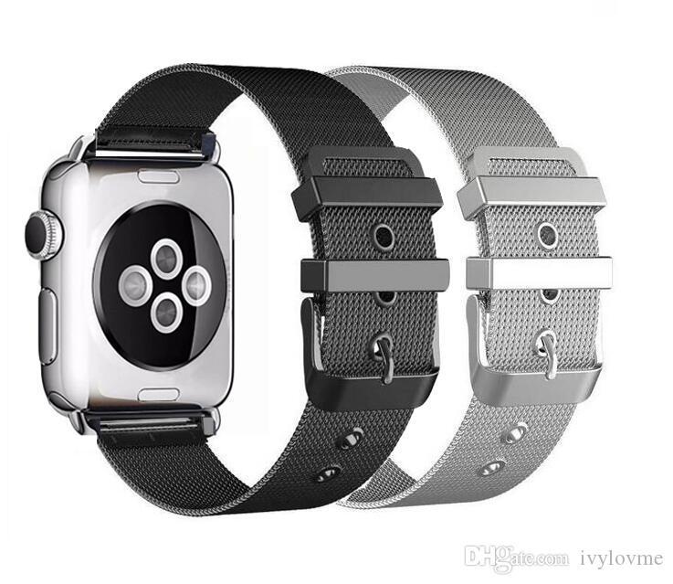 Milanese Loop for Apple Watch Band For Apple Watch 3 42mm Stainless Steel Metal Strap For Apple Watch Milanese Loop Bracelet