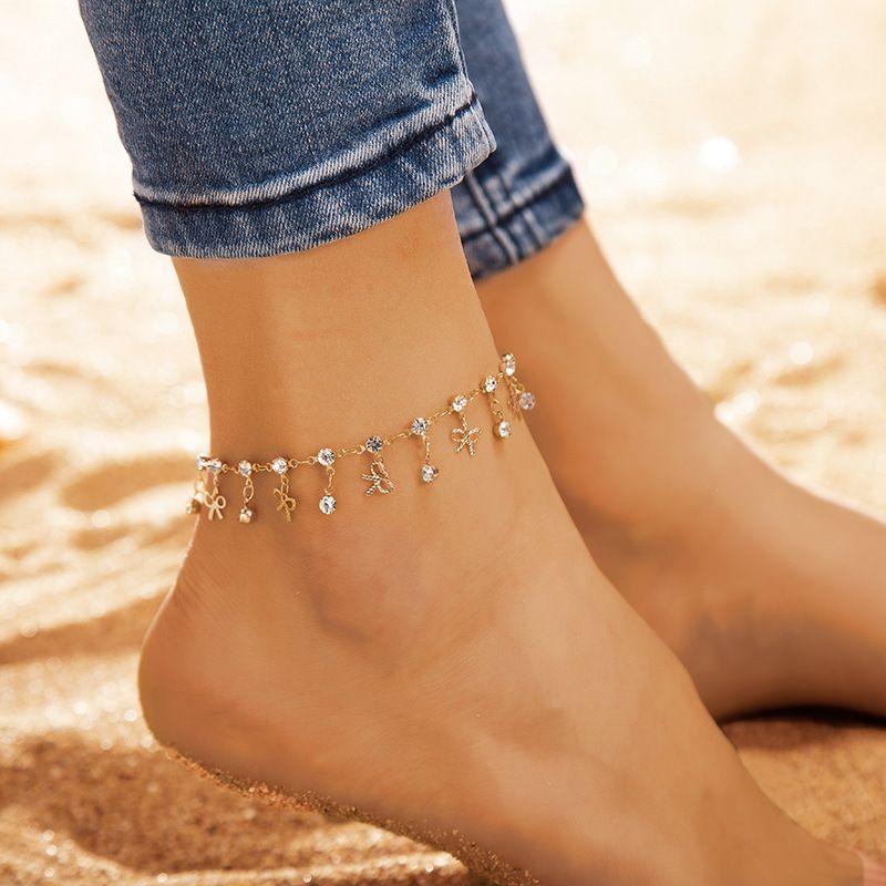 bracelet cheville fille