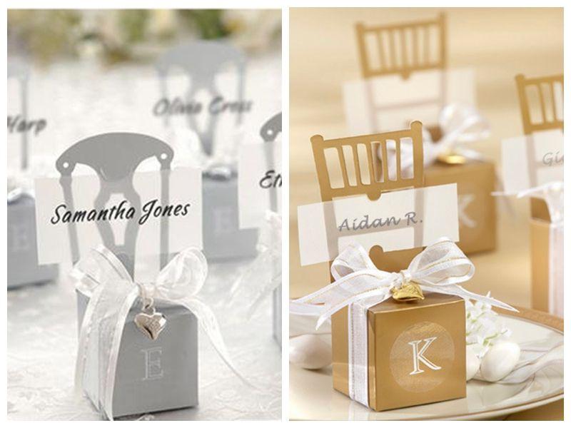 Decoração do casamento favor caixas de caixa de prata e Presidente Ouro favor com encanto do coração e 120pcs fita / lot para o presente partido favores caixa de doces