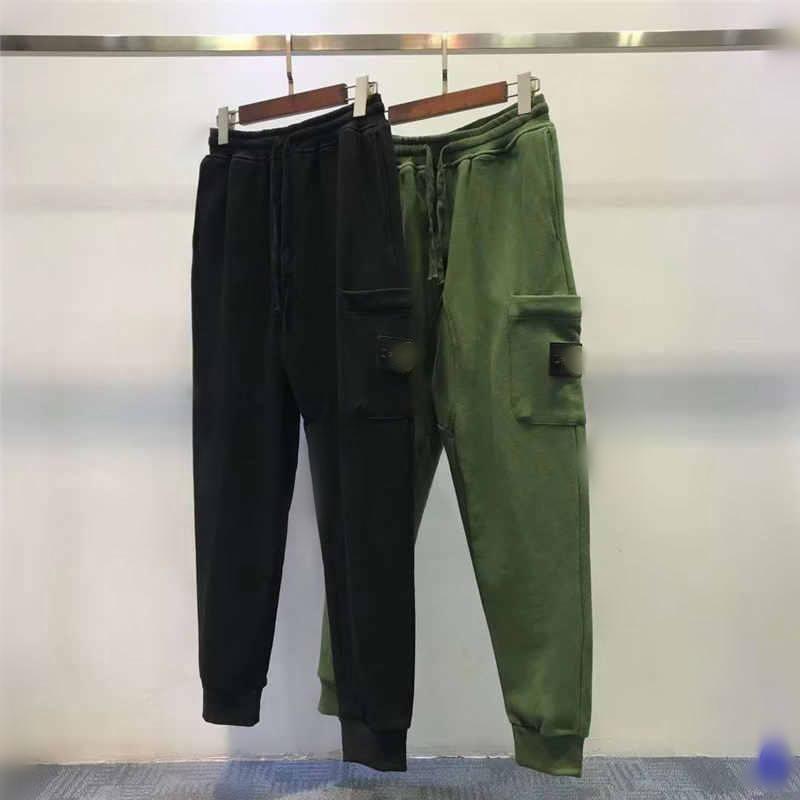 Erkek eşofman altı Günlük Stil Çapa Satış Erkekler Kamuflaj Koşucular Pantolon Parça Pantolon Kargo Erkekler Pantolon Pantolon Elastik Bel Harem