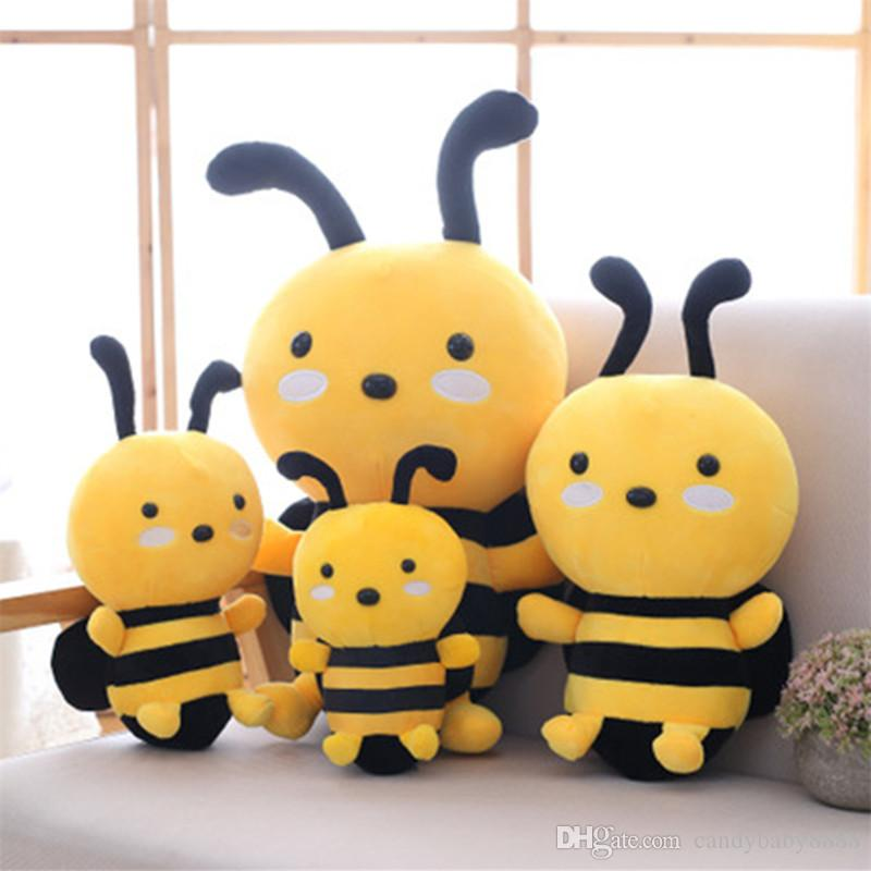 Little bee Stuffed toy Animals cartoon plush toys stuffed dolls Kawaii stuffed animals Doll Kids toys Christmas gifts 20/25/30cm C2126