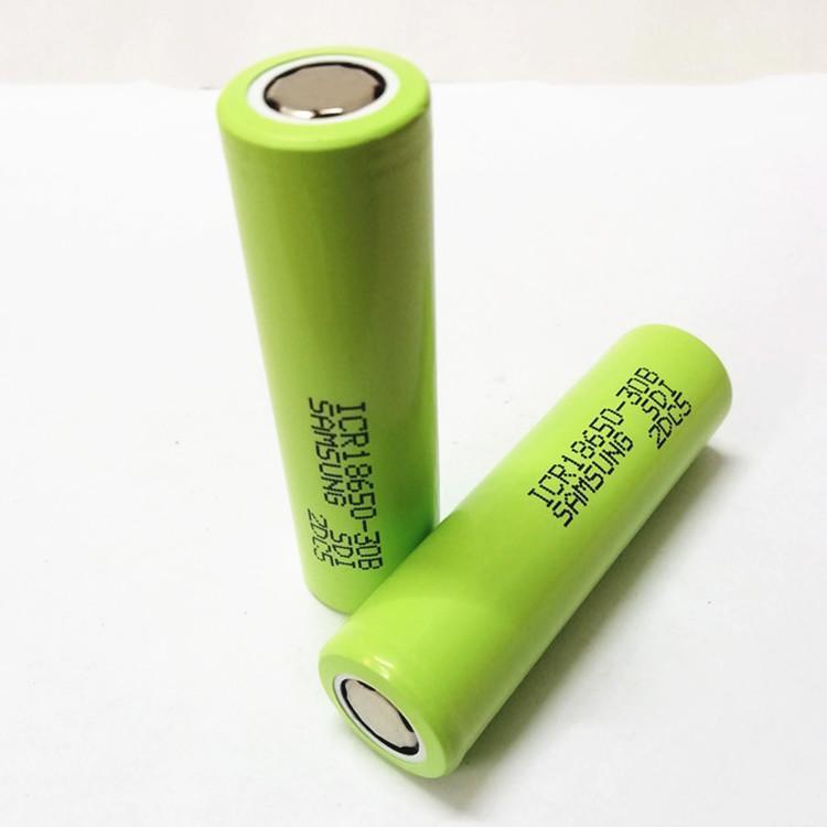 Le batterie di alta qualità ICR18650-30B batteria ricaricabile al litio per la sigaretta elettronica prodotti elettronici