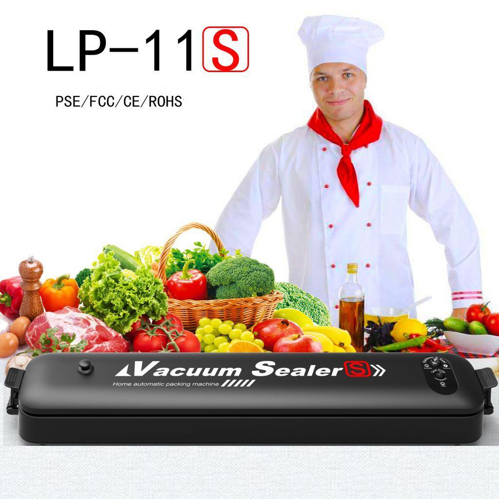 Nourriture vide Scellant Emballage Machine avec 15pcs Sacs maison vide alimentaire Scelleuse électrique vide Scellant Packer VT0938
