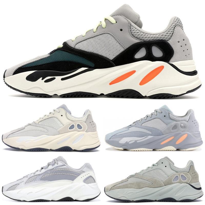 v2 350 a impulsar 700 zapatos de diseño Kanye West corredor de la onda Tefra estáticas Geode Vanta Utilidad Negro zapatillas de deporte corrientes para los hombres de las mujeres al aire libre Spor
