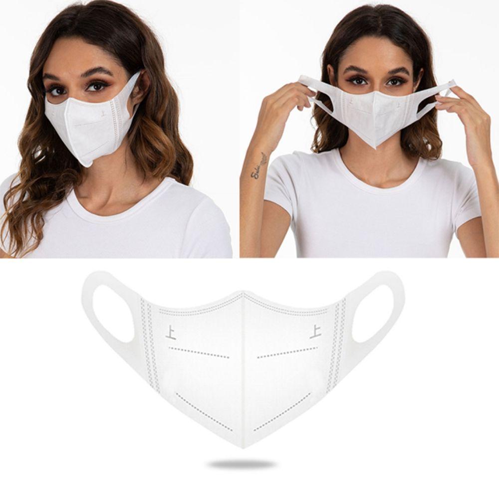 Rápido Máscaras frete grátis descartável cara Anti Poeira Smoke 3D Máscara Máscaras Adult Protective 3 Camada Melt-pulverizado não tecida Anti-bacterianas