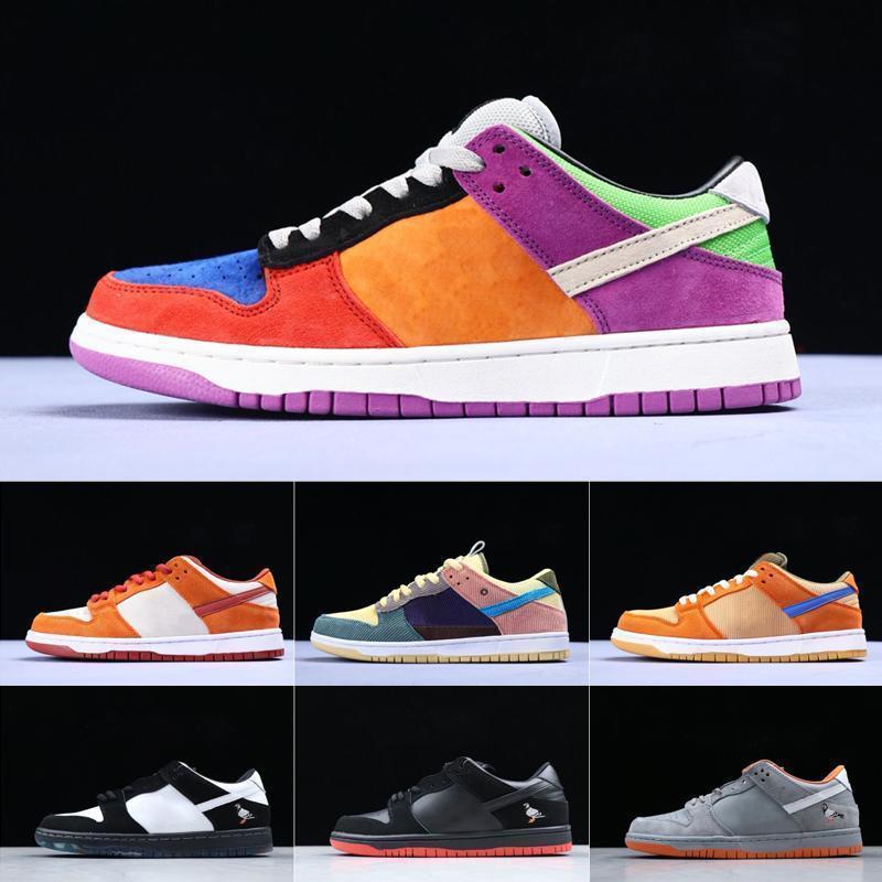 Concepts hommes x SB Dunk Low chaussures de course sport Homard diamant Su Fashion Designer étoiles Sole Casual Chaussures de sport 36-45