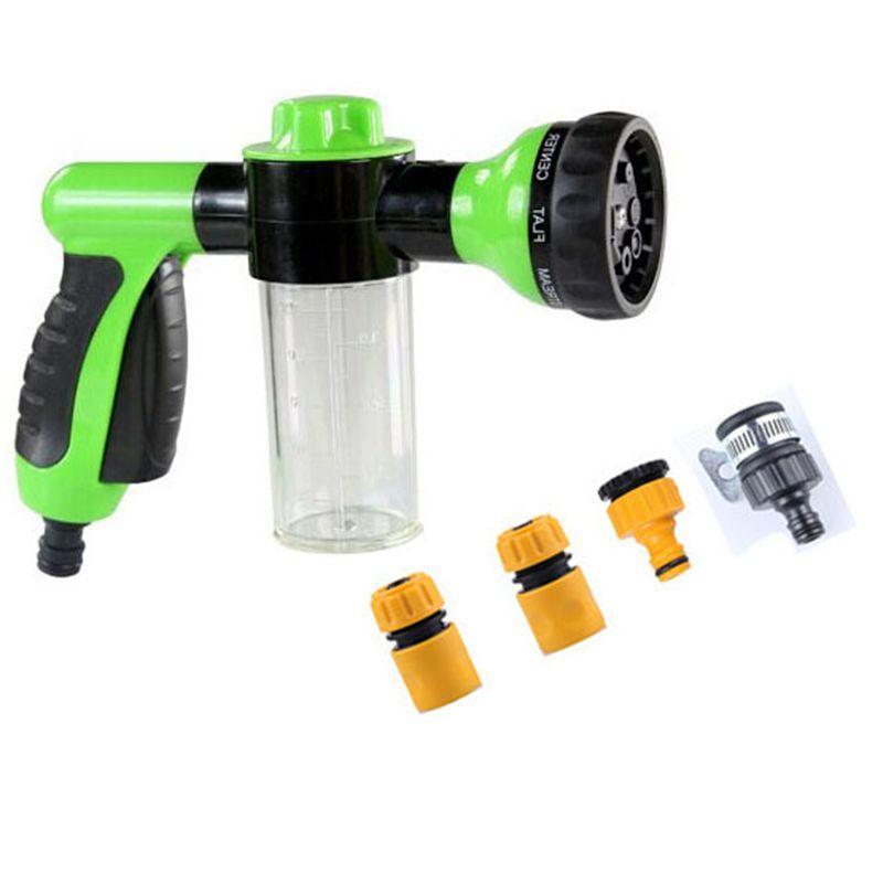 Gtbl Portable Auto mousse Lance l'eau à haute pression Outil 3 Qualité Buse Jet laveur de voiture nettoyage du pulvérisateur Voitures outil de lavage