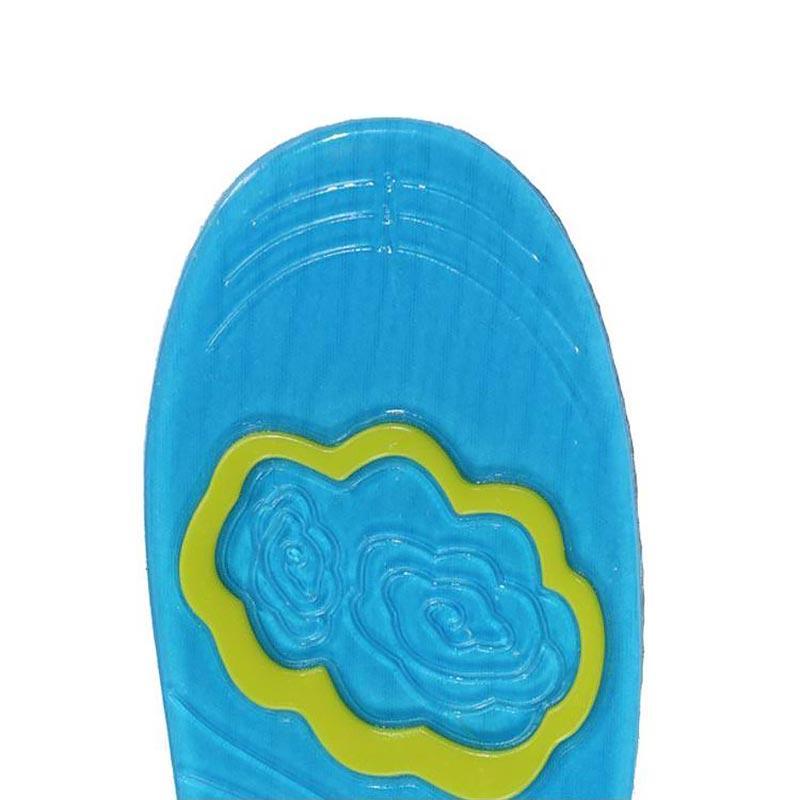 Мужчины массаж подошвы женщин стельки ОСП Вставки колодки поглощения шок силикон спортивная обувь площадку удобные гелевые стельки