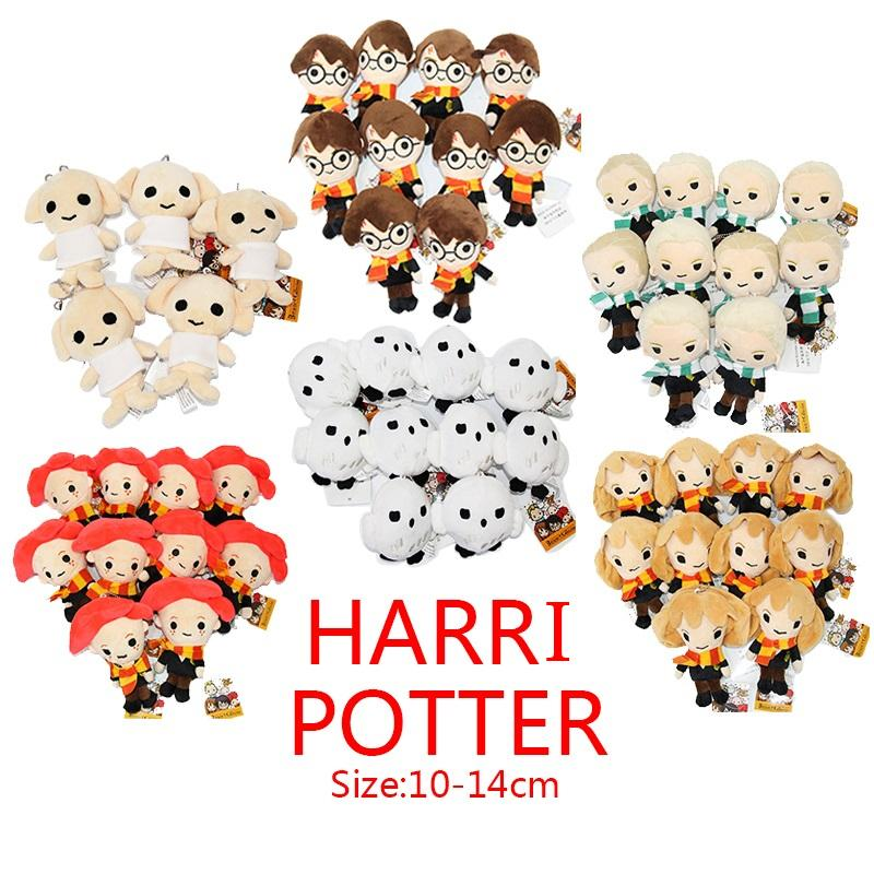 2019 Top New 6 Styles 4 5 5 10cm 14cm Harry Potter Stuffed Doll