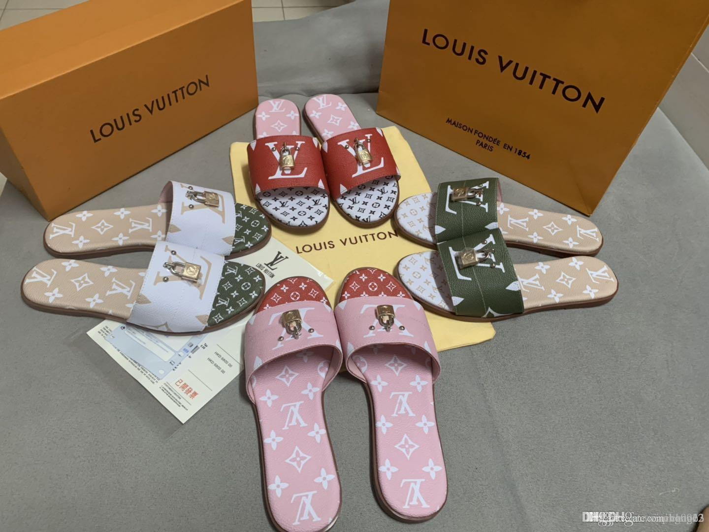 Новые 2020 дамы летние сандалии ключевые тапочки пляжные сандалии дамы графический дизайнер сандалии + мешок пылесборник