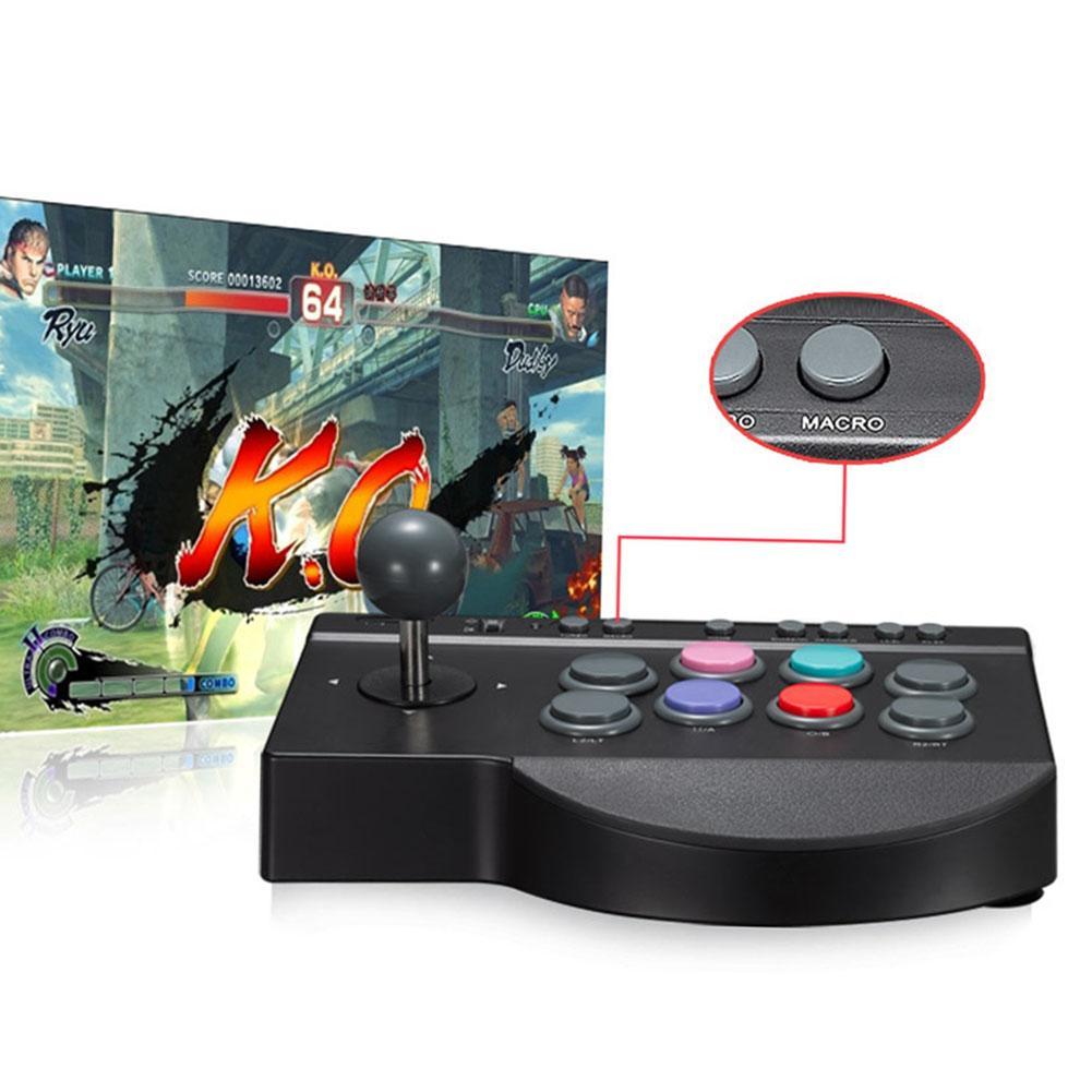 Joystick ABS Ersatz USB-Kabel für Arcade-Kampf Durable Praktische Nützliche Knopf Game Controller PC für PS3 / 4 für XBOX ONE