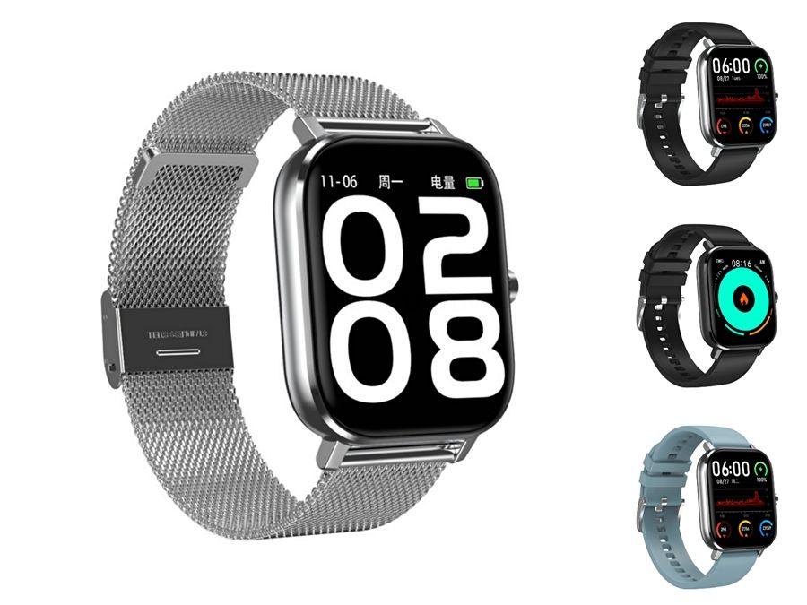 Schermo K1 2.5D Full HD 3D Ui tocco DT-35 intelligente orologio impermeabile IP68 cardiofrequenzimetro sostituibile Strap DT-35 Smartwatch per Android # QA54