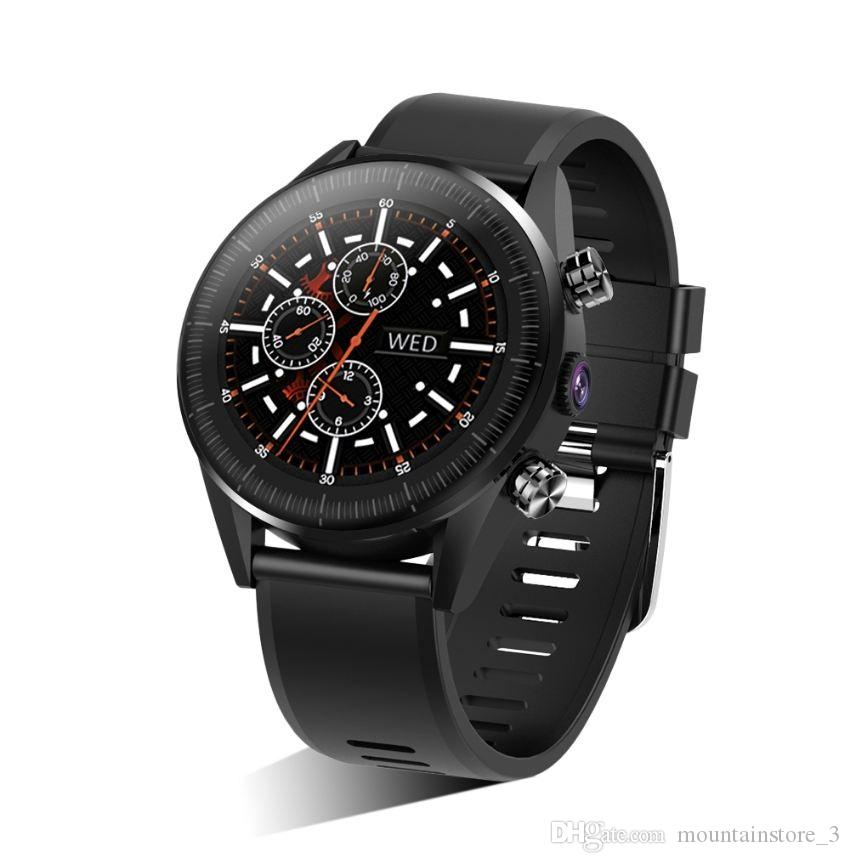 KC05 4G Smart Watch Men Android 7.1.1 Quad Core GPS 5MP Camera 610Mah Battery Smartwatch Replacement Strap DIY watch face