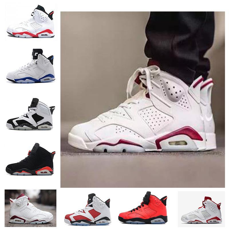 free shipping men Basketball shoes black cat Hare Carmine White Infrared Angry bull sport blue Oreo Olympic Maroon sneaker shoes